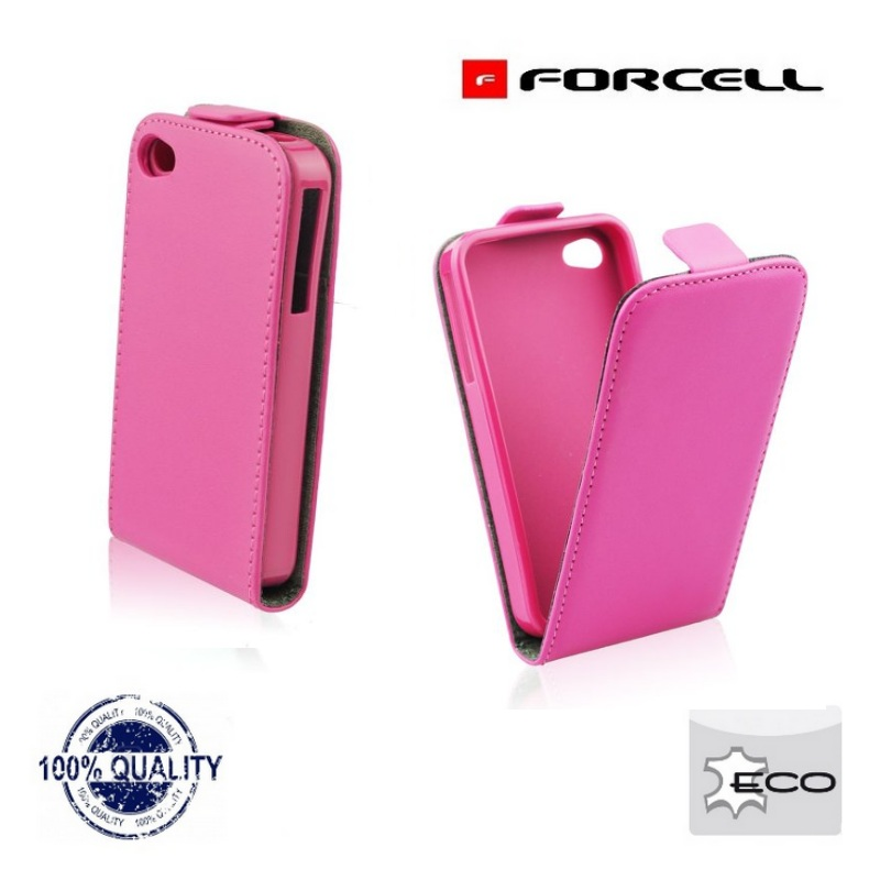 Forcell Flexi Slim Flip Apple iPhone 4 4S Trend maciņš, apvalks mobilajam telefonam