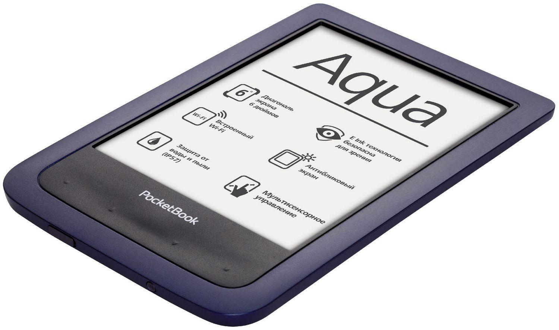 POCKETBOOK Aqua 6inch 4GB flash Elektroniskais grāmatu lasītājs
