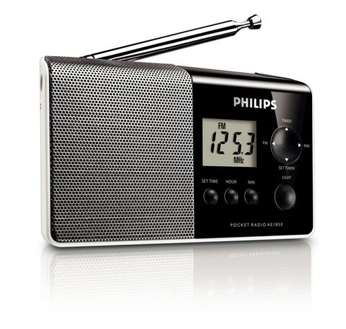 PHILIPS AE1850/00 radio, radiopulksteņi