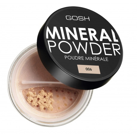 GOSH Mineral Powder 06 Honey pūderis pūderis