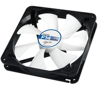 ARCTIC F14 HIGH PERFORMANCE Case FAN 14CM ventilators
