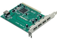 I/O CARD USB2 PCI 5PORT/TU2-H5PI TRENDNET USB centrmezgli