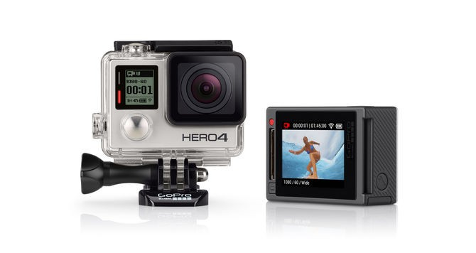 HERO4 Silver Adventure - English / French sporta action kamera