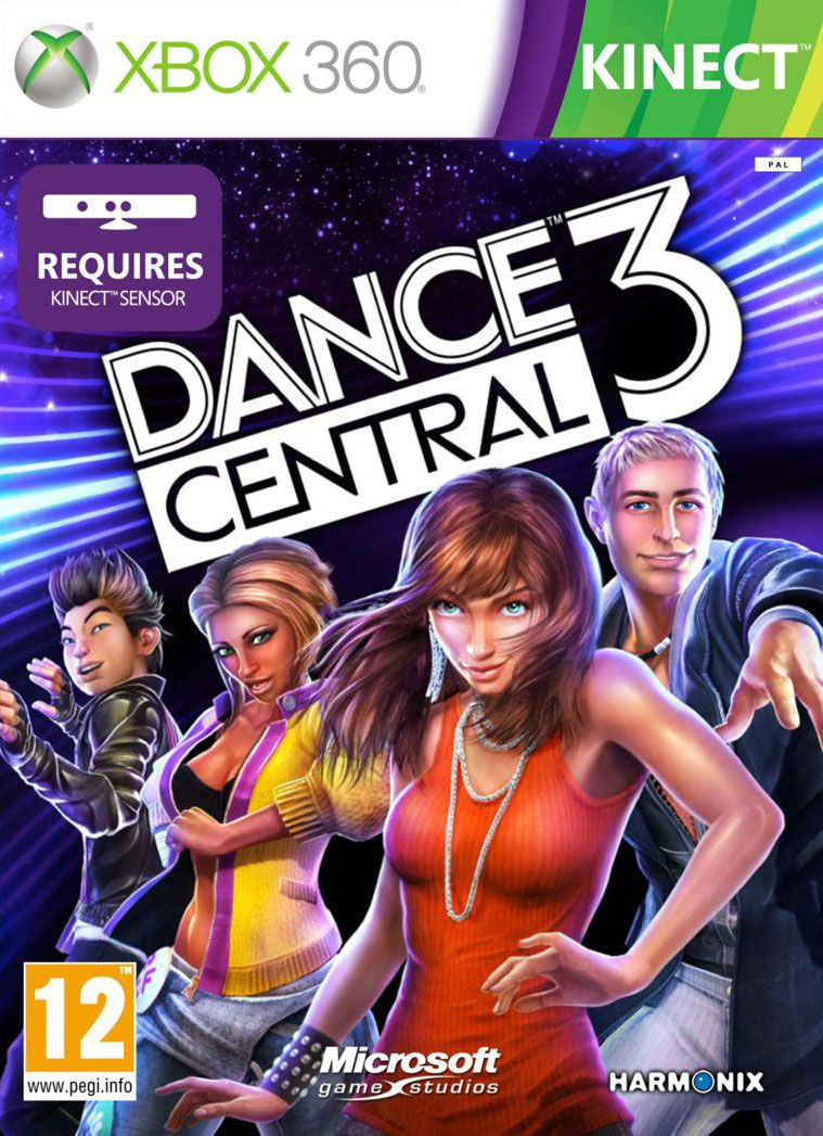 DANCE CENTRAL3/XBOX 360 PAL