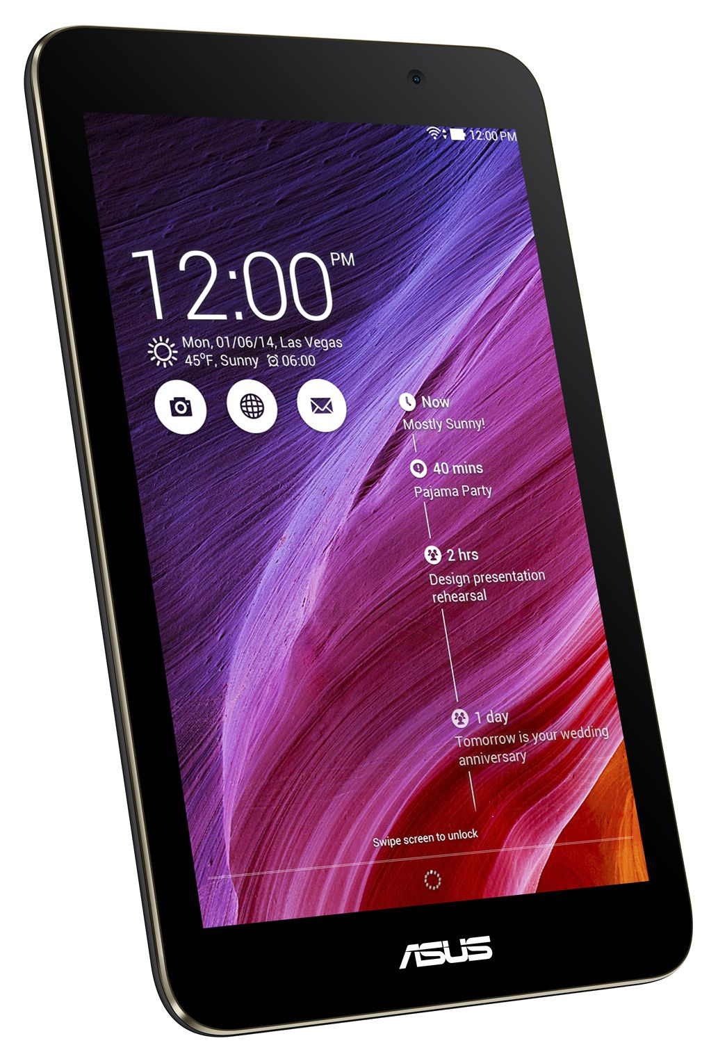 Asus MeMo PAD 8 Black Planšetdators