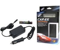 Fortron +19Vdc 65W Universal CAR Adapter for Notebook, Retai portatīvo datoru lādētājs