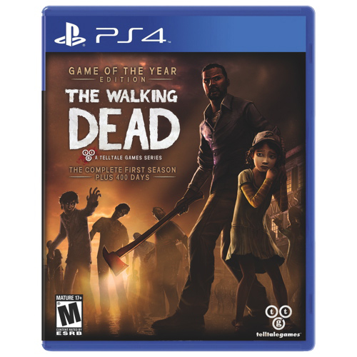 SONY PS4 Walking Dead GOTY