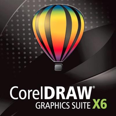 CorelDRAW Graphics Suite X6 License Media Pack programmatūra