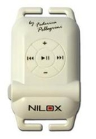 Nilox White Waterproof Swimming MP3 4GB MP3 atskaņotājs