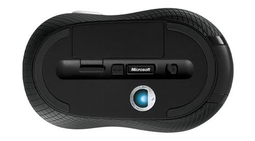 Microsoft bezvadu Mobile Mouse 4000 melns