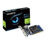 GIGABYTE GV-N610-1GI/ GeForce GT 610 / PCI-E 2.0 / 1GB DDR3 video karte