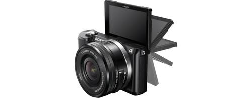 Sony A5000 20.1Mpix 16-50 Black Spoguļkamera SLR