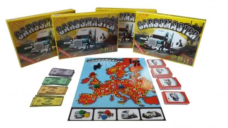 Cargomaster galda spēle galda spēle