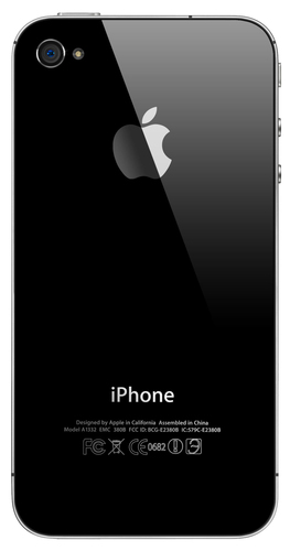 Apple Iphone 4S 8GB Black Mobilais Telefons