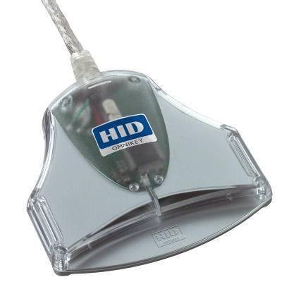 HID OMNIKEY 3021(FW2.04) R30210015-1 USB Smart Card Reader (CM3021B) karšu lasītājs