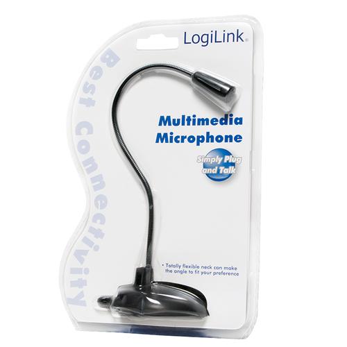 Logilink hs0012 table microphone aksesuāri bērniem