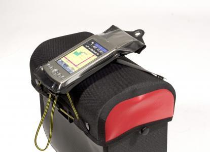 GPS iepakojums somai uz stūres
