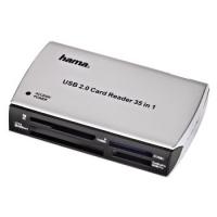 HAMA CardReaderWriter 65in1 USB 2.0 karšu lasītājs