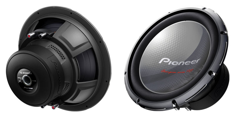 Pioneer TS-W3003D4 SubWoofer