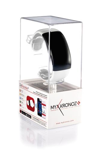 MyKronoz Smartwatch ZeBracelet2 White Viedais pulkstenis, smartwatch