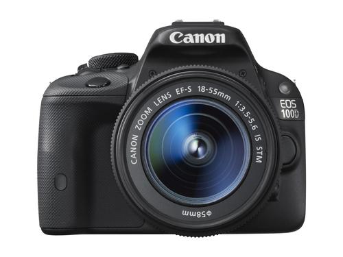 Canon EOS 100D 18Mpix 18-55IS STM Black Spoguļkamera SLR