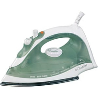 Bomann DB 765 Steam iron, 2000W, White Gludeklis