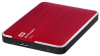 WD MyPassport Ultra 2TB USB3.0 Red Ārējais cietais disks