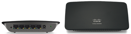 CISCO LINKSYS SE2500 komutators