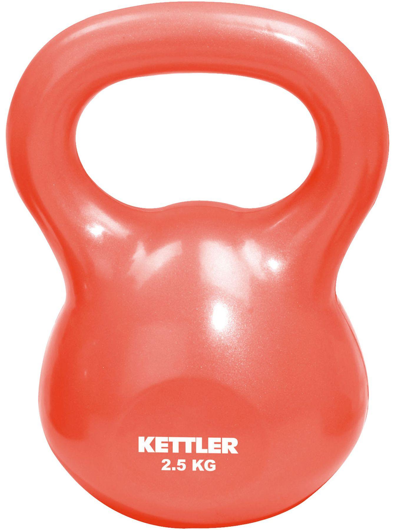 KETTLER Fitnesa hanteles Kettle Bell Basic 2,5kg.grau 7370-065 hanteles