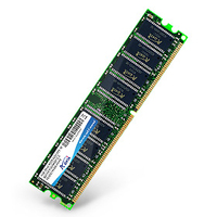 A-DATA 1GB DDR DIMM 400 64x8 3 - SINGLE TRAY