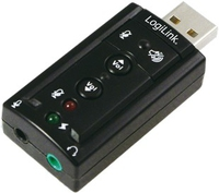 Logilink USB Audio adapter, 7.1 sound effect skaņas karte