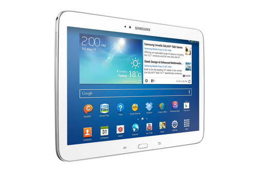 SAmsung Galaxy Tab3 10.1 16GB Wi-Fi White Planšetdators