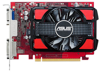 ASUS R7250-1GD5 / Radeon R7 250 / PCIE 3.0 / 1GB DDR5 / 128- video karte