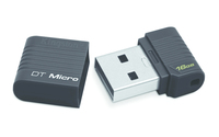 KINGSTON 16GB USB 2.0 Hi-Speed DT black USB Flash atmiņa