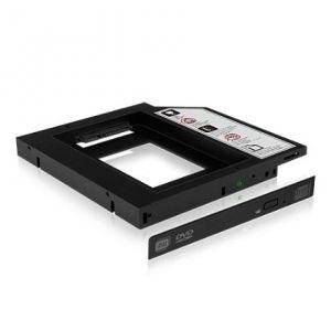 Icy Box Adapter For 2.5'' SSD/HDD Laptop Extension, Black piederumi cietajiem diskiem HDD