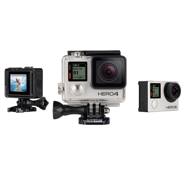 HERO4 Silver Moto - English / French sporta action kamera