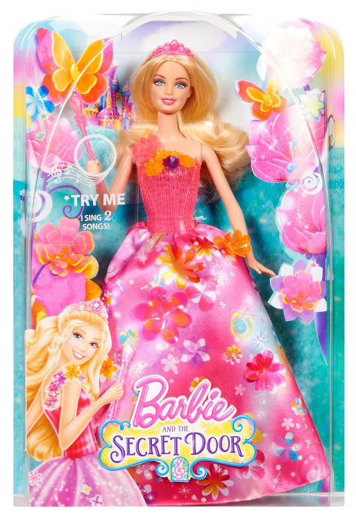 BARBIE Barbija ar skanam CCF82 bērnu rotaļlieta