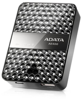 A-DATA DashDriveAir AE400 Wireless Storage Reader with Power karšu lasītājs