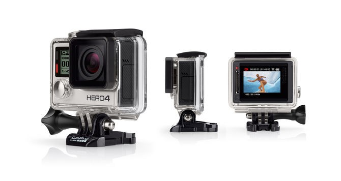 HERO4 Silver Surf - English / French sporta action kamera