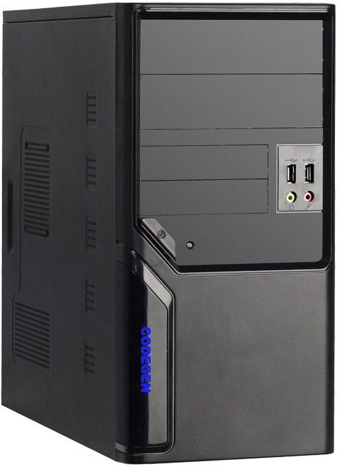 Codegen QoRi MicroATX-QM102-CA (black) Datora korpuss