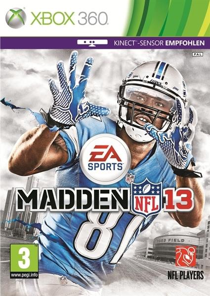 Microsoft XB360 Madden NFL 13 Kinect
