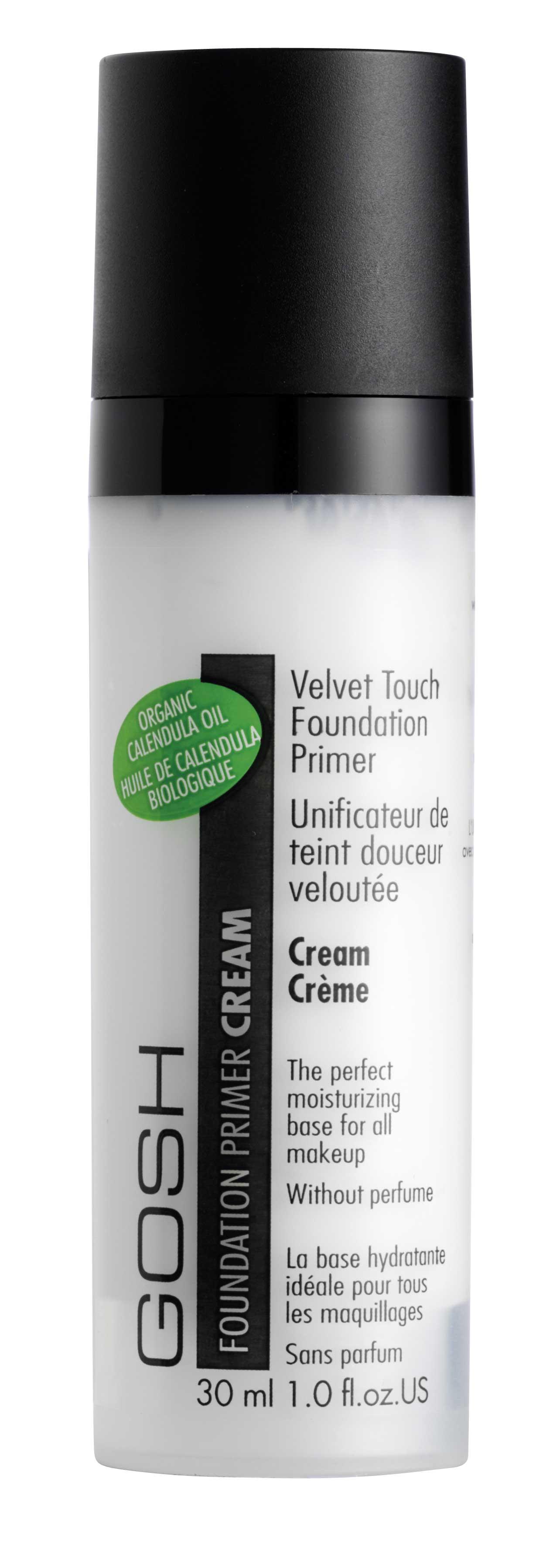 GOSH Velvet Touch Foundation Primer Cream make-up bāze make-up bāze