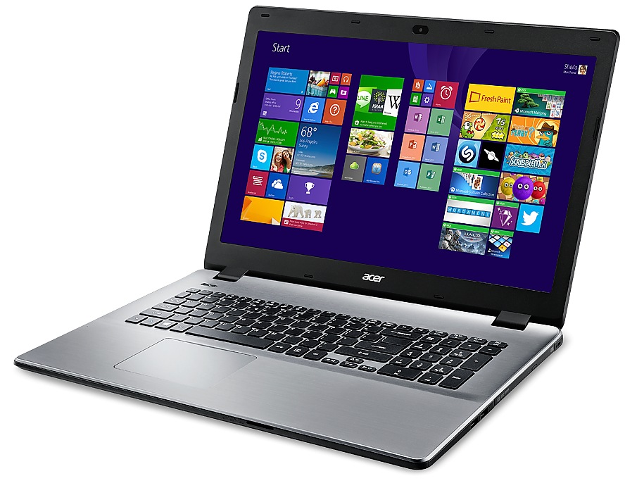 """ACER E5-771G CI3-4005U 17"""" Portatīvais dators"""