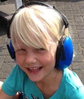 Jippie's trokšņus slāpējošas austiņas bērniem, zilas Mazuļu uzraudzība