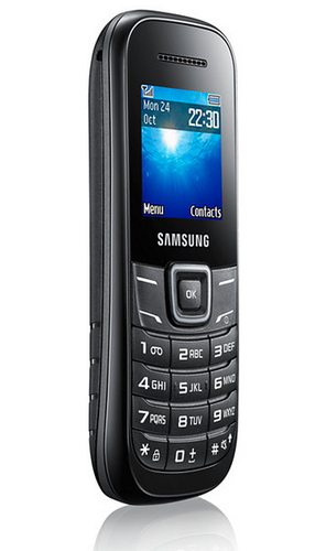 Samsung GT-E1200 Black Mobilais Telefons