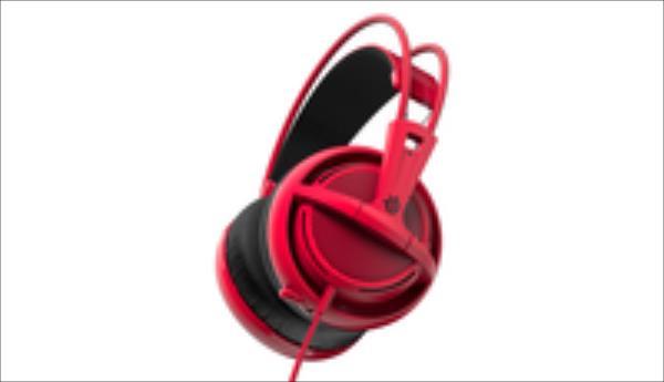 Gaming headset SteelSeries Siberia 200 Forged Red austiņas