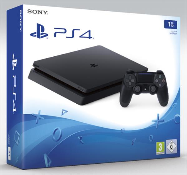 Sony PlayStation 4 PS4 Slim 1TB spēļu konsole