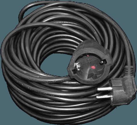 Pagarinātājvads 30m a/z 3Gx1.5mm elektrības pagarinātājs