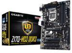 Gigabyte Z170-HD3 DDR3, Z170, DualDDR3-1600, SATAe, SATA3, HDMI, DVI, D-Sub, ATX pamatplate, mātesplate