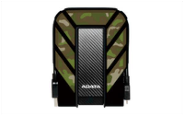 Adata HD710M Camouflage 2.5inch 1TB USB3.0, Rugged IP6X IPX8 Ārējais cietais disks